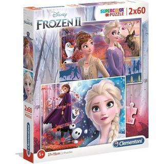 Clementoni SuperColor Disney Frozen 2 2x60 Pieces