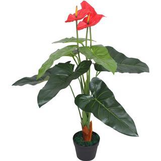 vidaXL Artificial Anthurium Plant with Pot 90cm