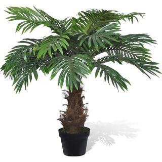 vidaXL Artificial Cycus Palm Tree with Pot 80cm