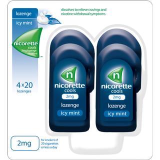 Nicorette Cools Icy Mint Duo 2mg 80pcs