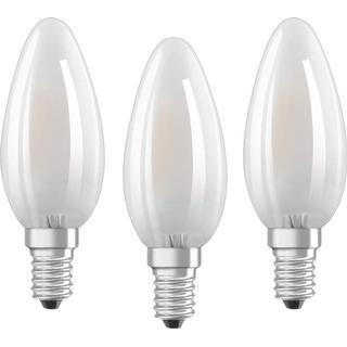 Osram Base CLAS B 40 LED Lamps 4W E14 3-pack