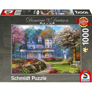 Schmidt Dominic Davison Victorian Mansion 1000 Pieces