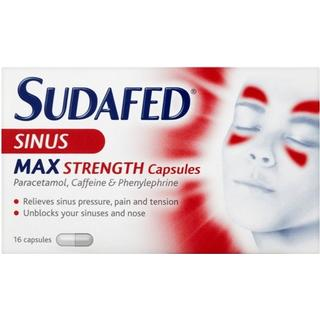 Sudafed Sinus Max Strength 16pcs
