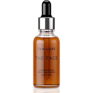 Tan-Luxe The Face Illuminating Self-Tan Drops Medium/Dark 30ml