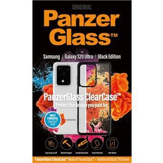 PanzerGlass Black Edition ClearCase for Galaxy S20 Ultra