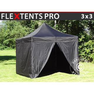 Dancover Flextents PRO Folding Tents 3x3m incl. 4sider
