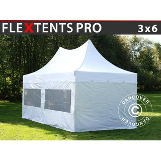 Dancover Folding Tent FleXtents PRO Top Pagoda 3x6m incl. 6sider