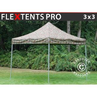 Dancover Folding tent Flextents PRO 3x3m incl.4sider