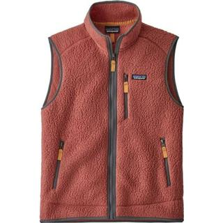 Patagonia Retro Pile Fleece Vest - Spanish Red