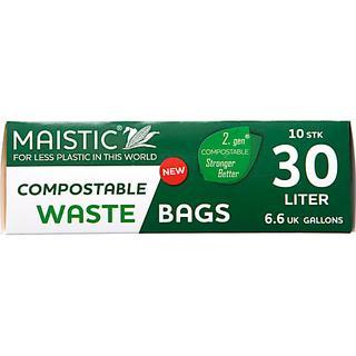 Maistic Maistic 2.Gen Compostable Waste Bag 10x30L