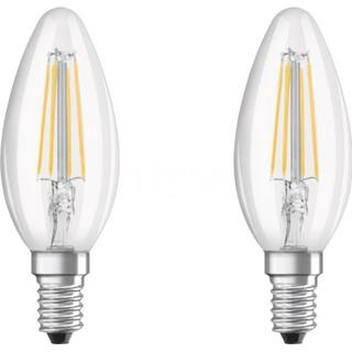 Osram Base CLAS B 40 LED Lamps 4W E14 2-pack