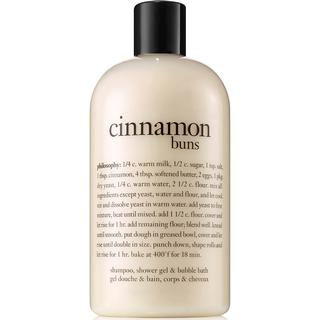 Philosophy Shampoo, Shower Gel & Bubble Bath Cinnamon Buns 480ml