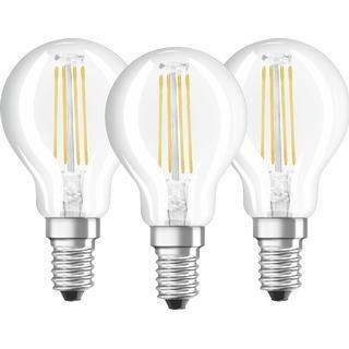 Osram Base CLAS P 40 LED Lamps 4W E14 3-pack