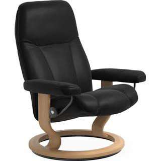 Stressless Consul M 75cm Leather Reclining Chair