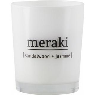 Meraki Sandalwood & Jasmine Small 6.7cm Scented Candles