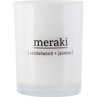 Meraki Sandalwood & Jasmine 10.5cm Scented Candles