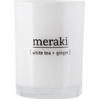 Meraki White Tea & Ginger 10.5cm Large Scented Candles