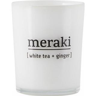 Meraki White Tea & Ginger 6.7cm Scented Candles