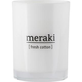Meraki Fresh Cotton 10.5cm Scented Candles