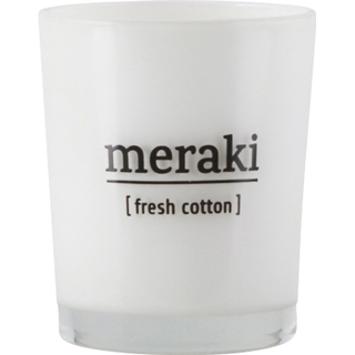 Meraki Fresh Cotton Small Scented Candles