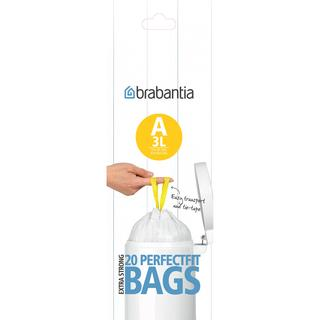 Brabantia Perfect Fit Bags Code A 3L 20-pack