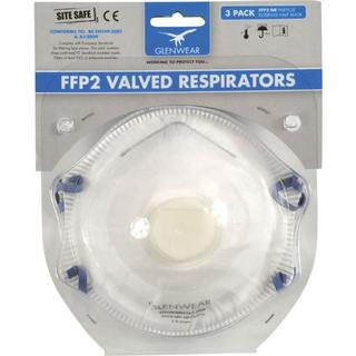 Glenwear FFP2 Valved Respirator Mask 10-pack