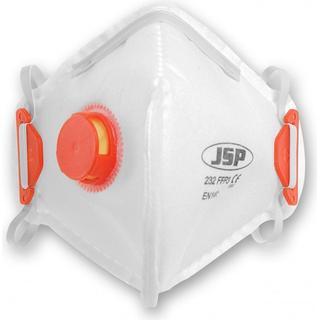 JSP 232 Vertical Fold Flat Respirator Valved FFP3