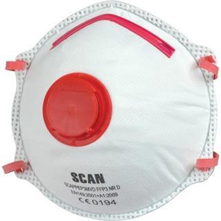 Scan Premier Moulded Disposable Valved Mask FFP3 2-pack