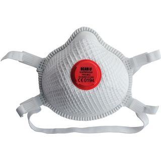 Scan Duranet Valved Disposable Masks FFP3 2-pack
