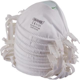 Draper 82569 FFP3 NR Moulded Dust Mask 10-pack