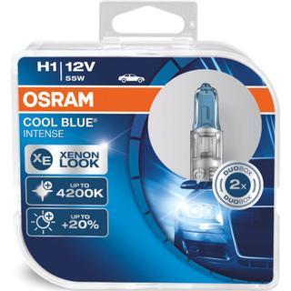 Osram H1 Cool Blue Intense Halogen Lamps 55W P14.5s 2-pack