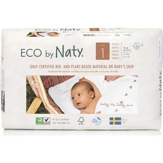 Naty Baby Diapers Size 1, 2-5kg, 25 pcs