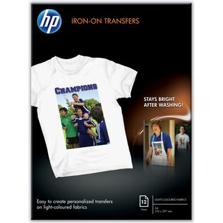HP Iron-on Transfers A4 210x297mm 12 sheets