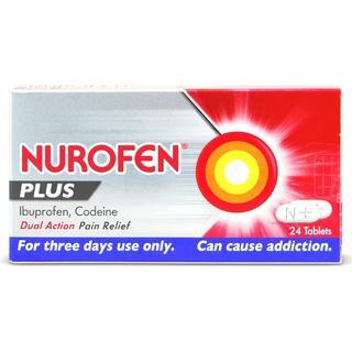 Nurofen Plus 200mg/12.8mg 24pcs