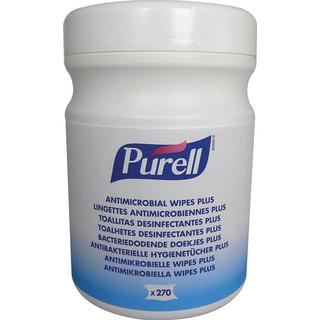 Purell Antimicrobial Wipes Plus 270-pack