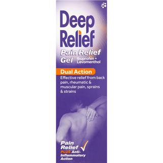 Deep Relief Dual Action 50g