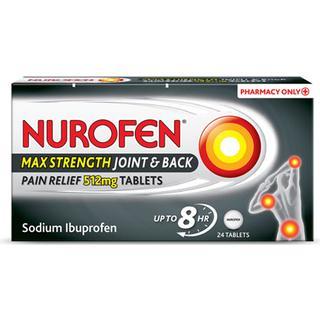Nurofen Max Strength 512mg 24pcs