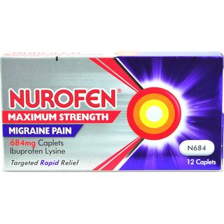 Nurofen Maximum Strength 684mg 12pcs