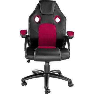 tectake Mike Gaming Chair - Black/Red