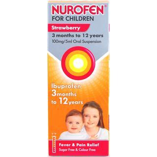 Nurofen Strawberry 100mg/5ml 200ml