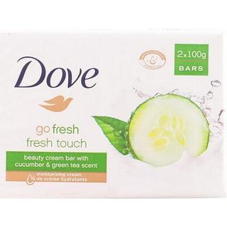 Dove Go Fresh Touch Beauty Cream Bar 100g 2-pack