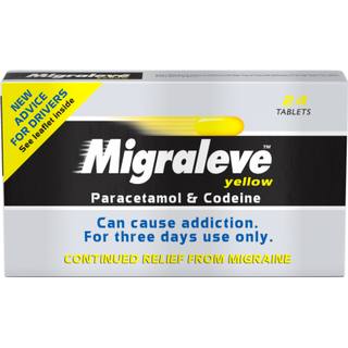 Migraleve Yellow 500mg/8mg 24pcs
