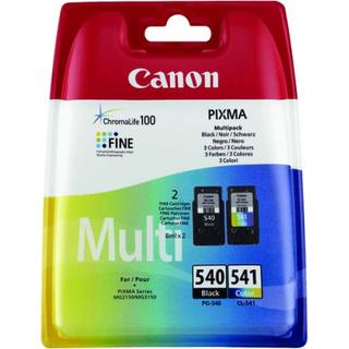 Canon PG-540XL/CL-541XL-2-pack (Black,Multicolour)