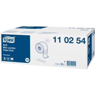 Tork Premium Soft Mini Jumbo T2 2-Ply Toilet Paper 12-pack
