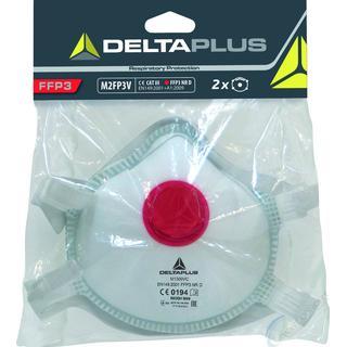Deltaplus M2FP3V FFP3+V Masks 2-pack
