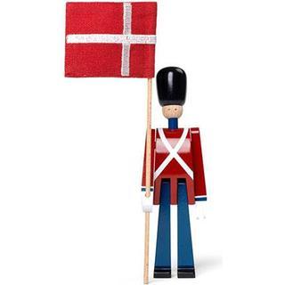 Kay Bojesen Standard-Bearer with Textile Flag Mini Figurine