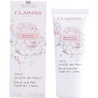 Clarins Hand & Nail Treatment Cream Magnolia 30ml