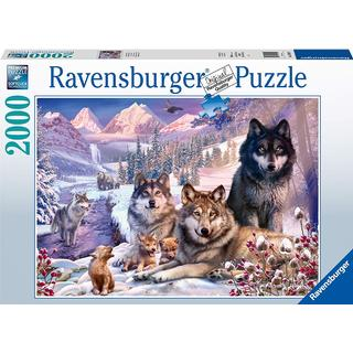 Ravensburger Wolves in The Snow 2000 Pieces