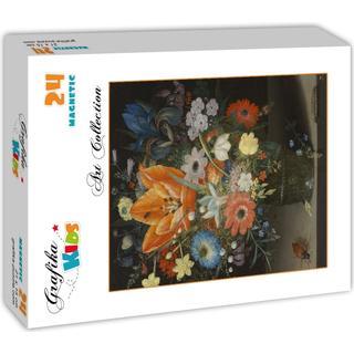 Grafika Peter Binoit Still Life with Iris 1623 24 Pieces