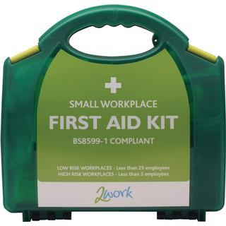 2Work BSI First Aid Kit Small